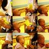 幸せの黄色い「バナナ」ハンカチ